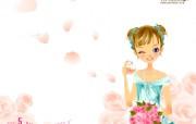 Vanilla cat 时尚美少女月历版 插画壁纸