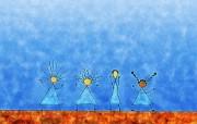高清晰Vladstudio 壁纸 一 可爱简笔卡通篇 1920 1200 Vladstudio 可爱儿童画壁纸 Vladstudio壁纸一可爱简笔卡通篇 插画壁纸
