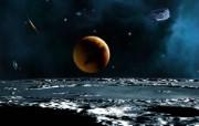 宇宙探索 太空与航天艺术图 第二辑 宇宙星球太空CG插画 宇宙星体星球图片 1920 1200 宇宙探索太空与航天CG插画二 插画壁纸
