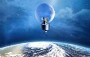 宇宙探索 太空与航天艺术图 太空艺术图 人造卫星CG图片 1920 1200 宇宙探索太空与航天艺术图 插画壁纸