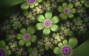 3D梦幻抽象花朵壁纸 创意壁纸