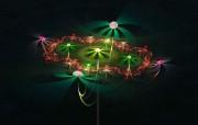 3D梦幻抽象花朵壁纸 3D梦幻抽象花朵壁纸 创意壁纸