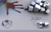超酷设计:三维视野精美壁纸 创意壁纸