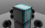 3D盒子壁纸 创意3D壁纸 创意壁纸