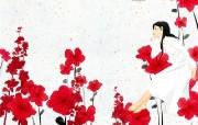 韩国插画名家SooHyun可爱柔美插画 创意壁纸