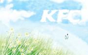 肯德基插画设计广告壁纸 肯德基插画设计广告壁纸 创意壁纸