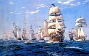 令人惊叹的手绘帆船壁纸 创意壁纸