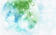 绿色环境主题PS壁纸 创意壁纸
