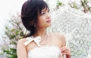 美丽茉莉花!新娘写真壁纸 创意壁纸