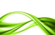 PS效果绿色光线 创意壁纸