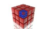 三维立方体设计壁纸 创意壁纸