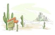 手绘简笔城市风景壁纸 手绘简笔城市风景壁纸 创意壁纸