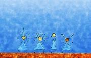 图腾原始人世界艺术壁纸 创意壁纸