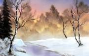 油画式极品风景壁纸3 创意壁纸