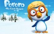 3D动画淘气小企鹅 动漫壁纸