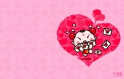 爱时尚 招财童子 可爱爱情宽屏壁纸 壁纸4 爱时尚(招财童子)可 动漫壁纸