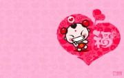 爱时尚 招财童子 可爱爱情宽屏壁纸 壁纸5 爱时尚(招财童子)可 动漫壁纸