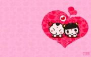 爱时尚 招财童子 可爱爱情宽屏壁纸 壁纸7 爱时尚(招财童子)可 动漫壁纸