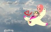 毕加猪爱与梦飞行壁纸 动漫壁纸