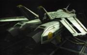 超时空要塞 宇宙战舰 宽屏手绘壁纸 壁纸8 超时空要塞(宇宙战舰 动漫壁纸