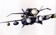 超时空要塞 宇宙战舰 宽屏手绘壁纸 壁纸11 超时空要塞(宇宙战舰 动漫壁纸