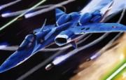 超时空要塞 宇宙战舰 宽屏手绘壁纸 壁纸16 超时空要塞(宇宙战舰 动漫壁纸