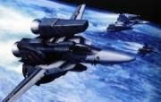 超时空要塞 宇宙战舰 宽屏手绘壁纸 壁纸23 超时空要塞(宇宙战舰 动漫壁纸