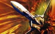 超时空要塞 宇宙战舰 宽屏手绘壁纸 壁纸31 超时空要塞(宇宙战舰 动漫壁纸