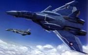 超时空要塞 宇宙战舰 宽屏手绘壁纸 壁纸34 超时空要塞(宇宙战舰 动漫壁纸
