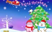 国创卡通圣诞节壁纸 动漫壁纸