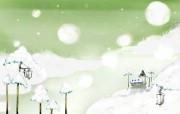 韩国卡通壁纸1920X1200 动漫壁纸