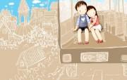 韩国卡通风格精选壁纸 韩国卡通风格精选壁纸 动漫壁纸