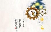 韩国水墨风格卡通壁纸 壁纸3 韩国水墨风格卡通壁纸 动漫壁纸