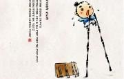 韩国水墨风格卡通壁纸 壁纸27 韩国水墨风格卡通壁纸 动漫壁纸