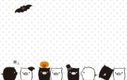 黑白猪 Mono KuRo BOO 壁纸5 黑白猪 (Mono 动漫壁纸