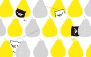 黑白猪 Mono KuRo BOO 壁纸9 黑白猪 (Mono 动漫壁纸
