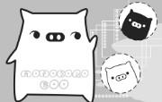 黑白猪 Mono KuRo BOO 壁纸21 黑白猪 (Mono 动漫壁纸