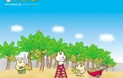 猴兔超人 可爱卡通壁纸 壁纸13 猴兔超人 可爱卡通壁 动漫壁纸