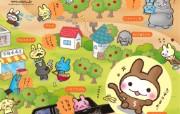 猴兔超人 可爱卡通壁纸 壁纸21 猴兔超人 可爱卡通壁 动漫壁纸