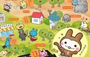 猴兔超人 可爱卡通壁纸 壁纸22 猴兔超人 可爱卡通壁 动漫壁纸