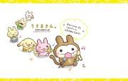 猴兔超人 可爱卡通壁纸 壁纸23 猴兔超人 可爱卡通壁 动漫壁纸