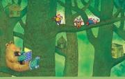 几米漫画绘本――森林唱游 动漫壁纸