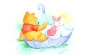 可爱维尼熊壁纸 动漫壁纸
