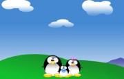 可爱小企鹅壁纸 可爱小企鹅壁纸 动漫壁纸