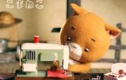 可玛猫KOMANEKO长的像熊的猫壁纸 动漫壁纸