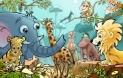 六一儿童节 童年童话 动漫壁纸