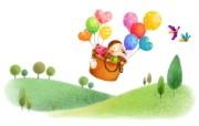 六一国际儿童节可爱卡通宽屏壁纸 壁纸3 六一国际儿童节可爱卡 动漫壁纸
