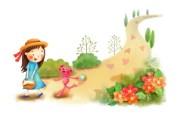 六一国际儿童节可爱卡通宽屏壁纸 壁纸7 六一国际儿童节可爱卡 动漫壁纸
