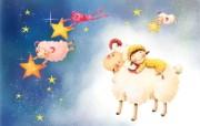 六一国际儿童节可爱卡通宽屏壁纸 壁纸8 六一国际儿童节可爱卡 动漫壁纸