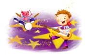 六一国际儿童节可爱卡通宽屏壁纸 壁纸11 六一国际儿童节可爱卡 动漫壁纸